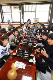 松島で昼食!天守閣のお重!