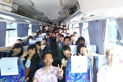 7組バスの中の様子