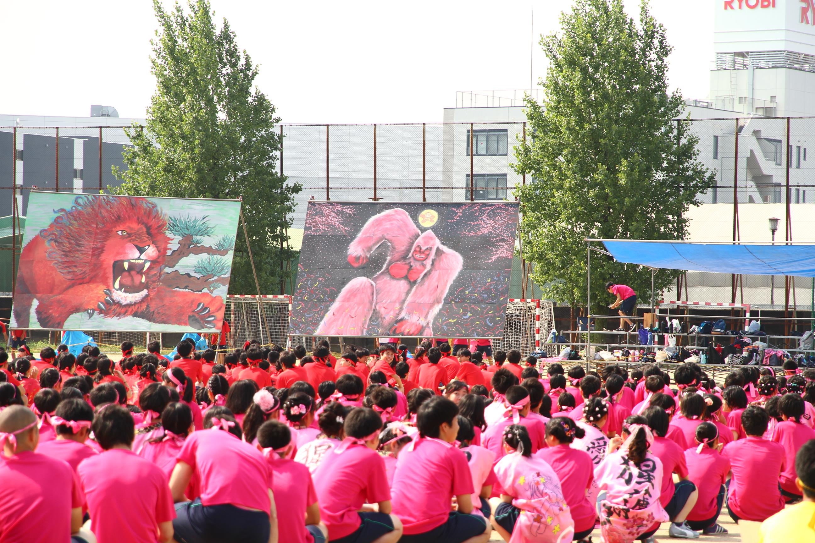 パネル発表ピンク団