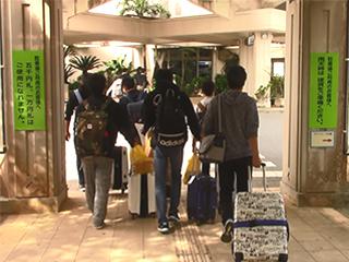 宮古島に気持ちは残りつつ空港へ