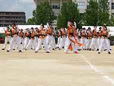 オレンジ団応援合戦