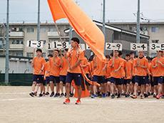オレンジ団入場
