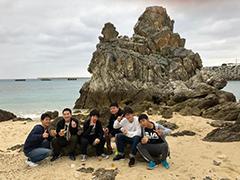 ゴリラチョップ岩